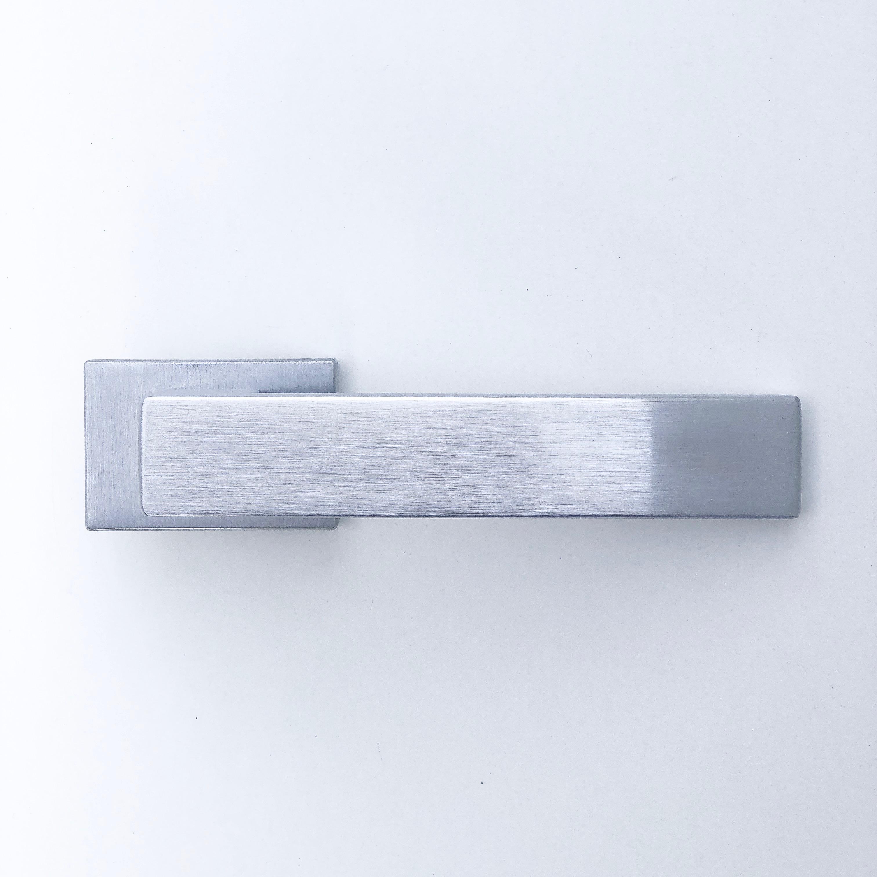 дверные ручки Cube rt матовый хром